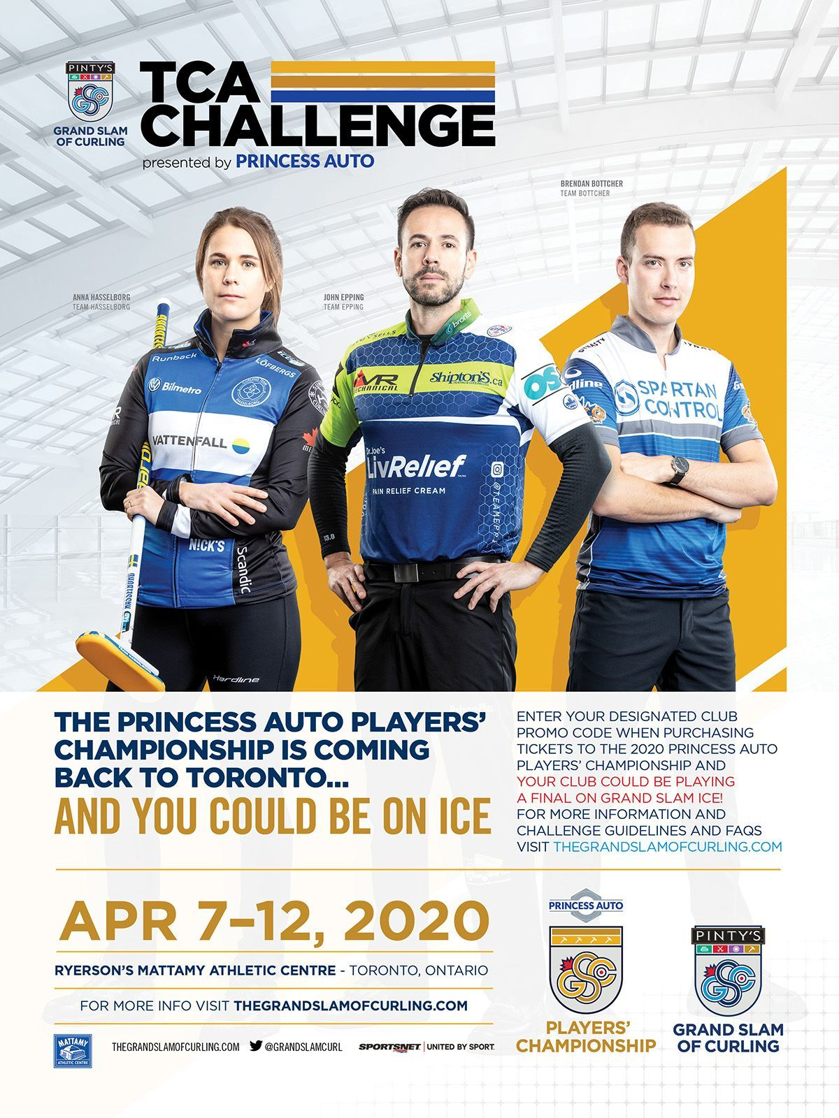 1578484383981 Grand Slam of Curling Players Championship 2020 TCA Challenge Poster 18x24 v2