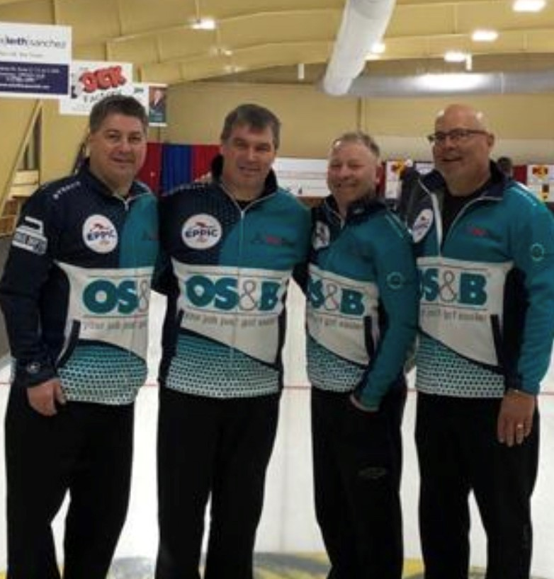 team wilson senior men provincials